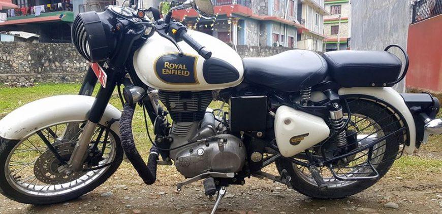 Bullet-Bike-on-Sale-in-Pokhara-GA-14-Pa-lot